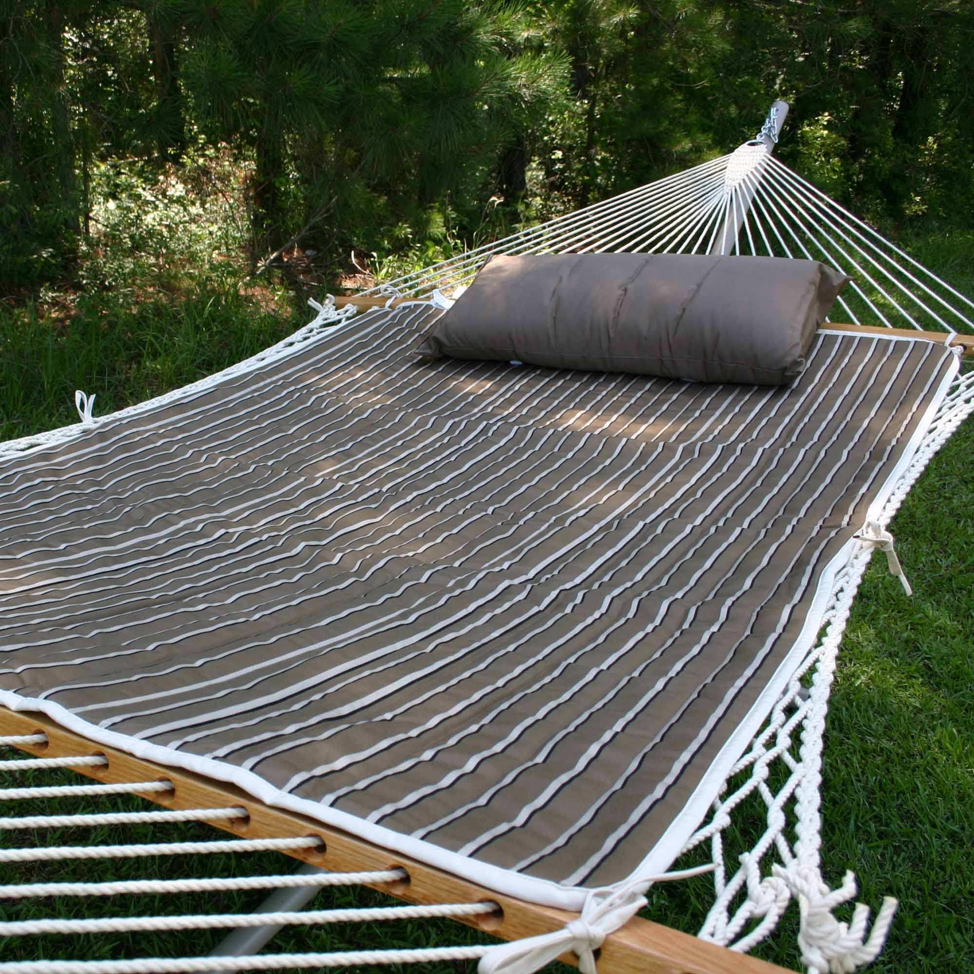 Cocoa Reversible Sunbrella Hammock Pad
