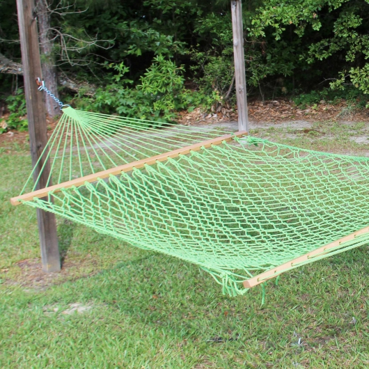 Large Grasshopper Weathersmart Rope Hammock