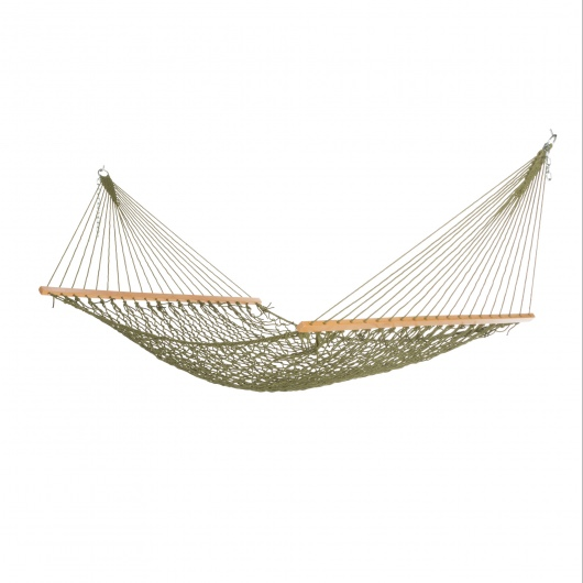 Large Olive Green Weathersmart Rope Hammock