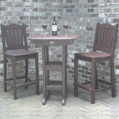 28 Inch Square Bistro Bar Height Table