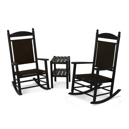 Jefferson 3-Piece Woven Rocker Set