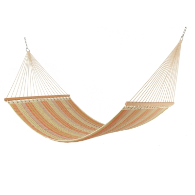 Large 2 Person Polyester Quilted Hammock - Pumpkin Patch