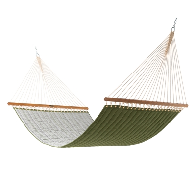 Large Quilted Sunbrella Fabric Hammock - Refine Cactus