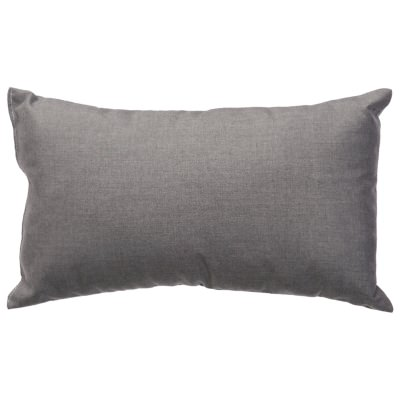Cast Slate Sunbrella Outdoor Throw Pillow (19