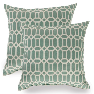 Rhodes Quartz Indoor/Outdoor Throw Pillow - Set of Two
