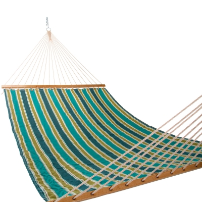 Large Multi-Striped Single Layer Hammock