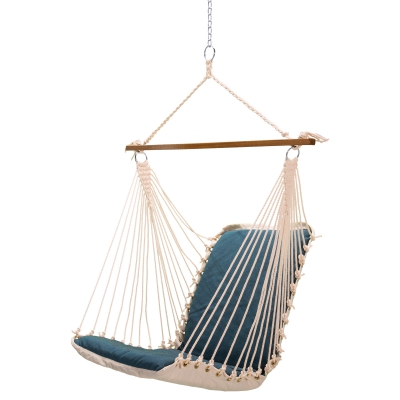 Sunbrella Cushioned Single Swing - Cast Laurel