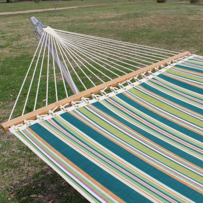 Single Layer Fabric Hammock - Zinnia Stripe