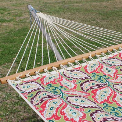 Single Layer Fabric Hammock - Sari Zinnia