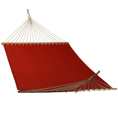 Solid Ruby Red Single Layer Hammock