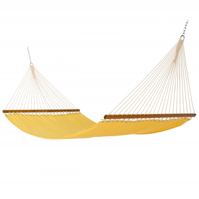 Single Layer Fabric Hammock - Canary Yellow