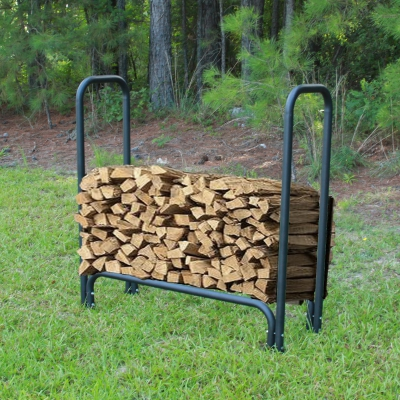 4 ft. Firewood Rack - Holds 1/4th Cord of Wood