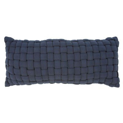 Navy Soft Weave Hammock Pillow
