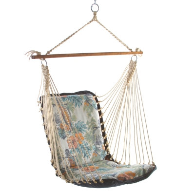 Sunbrella Cushioned Single Swing - Parrot