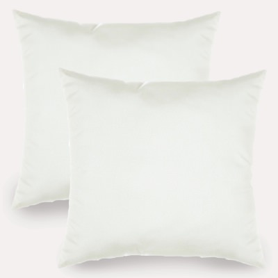 Spectrum Eggshell Sunbrella Indoor/Outdoor Throw Pillow - Set of Two