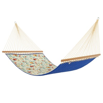 Spinnaker Bay Sailor Large Quilted Hammock Made in USA with Reversible Sunbrella Fabric