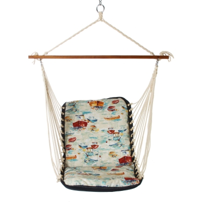 Polyester Cushioned Single Swing - Spinnaker Bay Sailor