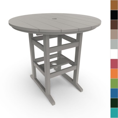 Round Counter Height Table By Pawleys Island Furniture