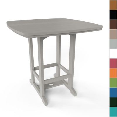 Square High Dining Table By Pawleys Island Furniture