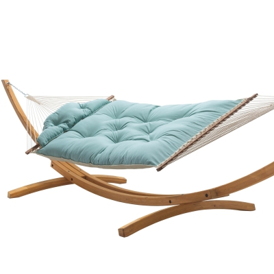 Large Sunbrella Tufted Hammock - Spectrum Mist