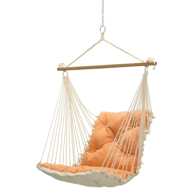 Tufted Sunbrella Single Swing - Adaption Apricot
