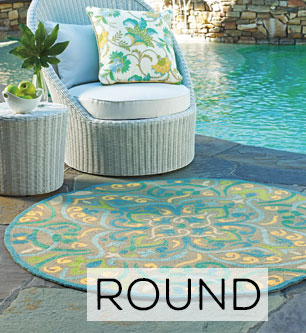 Round Outdoor Rugs